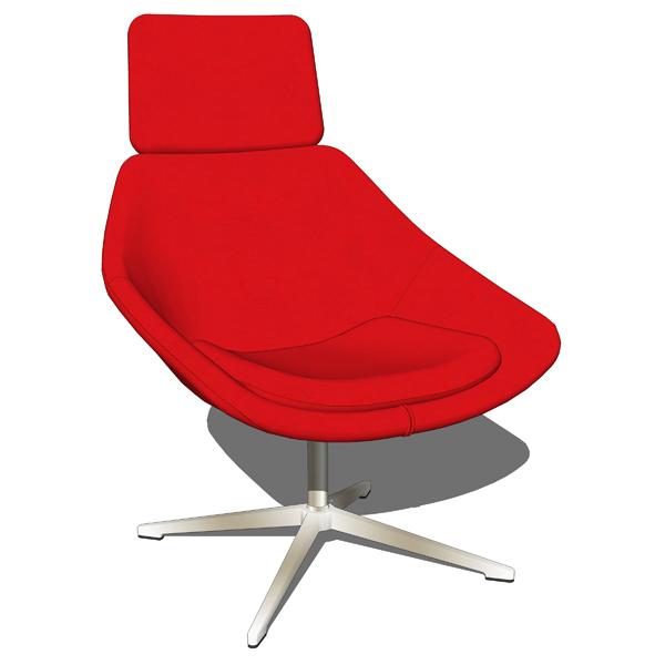 Allermuir Open Chairs 3d Model Formfonts 3d Models