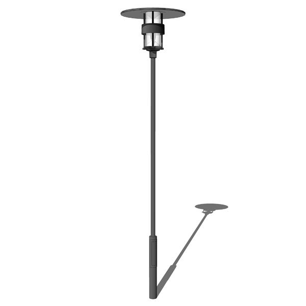 Outdoor Satellit lamp by Louis Poulsen. Designed b....