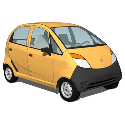 Named the cheapest car in the world, this tiny cit....