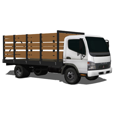 Mitsubishi Fuso RC Set 3D Model - FormFonts 3D Models ...