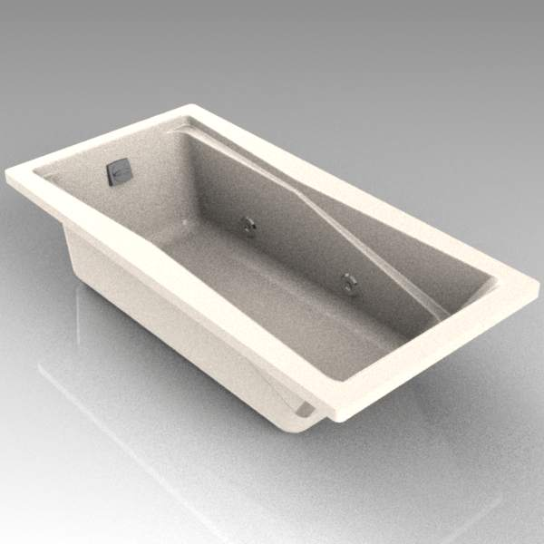 5 ft Kohler bath model 1201. The jets are removabl....