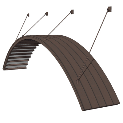 Entrance Arch Models Large Arch Canopy 3d Model
