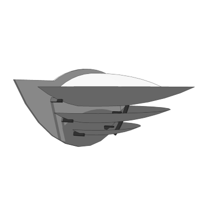 louis poulsen oslo wall 3d model formfonts 3d models textures. Black Bedroom Furniture Sets. Home Design Ideas