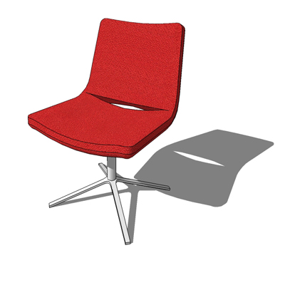 ME48 1 chair 3D Model FormFonts 3D Models & Textures