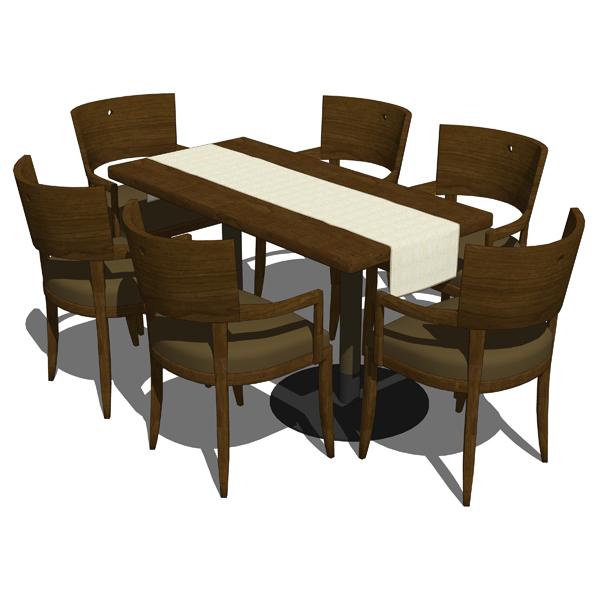 Restaurant dining set which includes the armchair,....