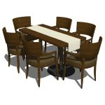 View Larger Image of Restaurant dining set