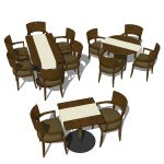 View Larger Image of FF_Model_ID9094_Restaurant_dining_set_FMH.jpg