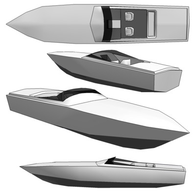 Where to get Cigarette model boat plans ~ J. Bome