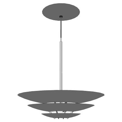 louis poulsen oslo pendant 3d model formfonts 3d models textures. Black Bedroom Furniture Sets. Home Design Ideas