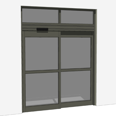 Nabco Gt 1175 Automatic Sliding Storefront Entry Door 3d Model
