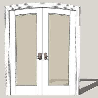 FL102 TruStile Door 3D Model