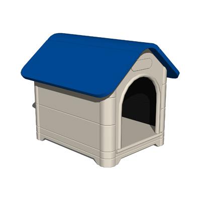 plastic dog houses dog house set b 3d model formfonts 3d models textures