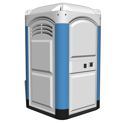 A portable toilet, also known as a port-a-potty, i....