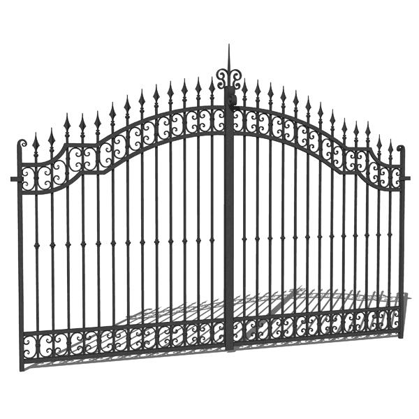 Entrance Gate 3d Model Venezia Firenze Gates 3d Model