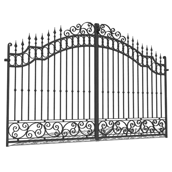 Wrought Iron Gates Designs