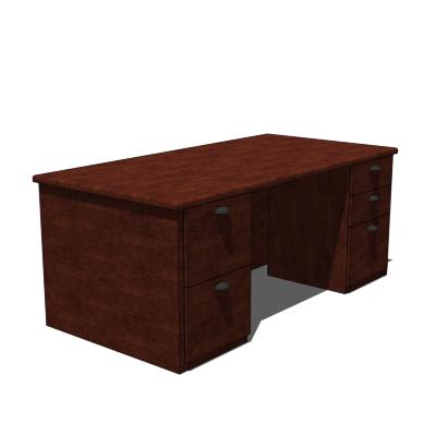 Ki Darwin Desk 3d Model Formfonts 3d Models Textures