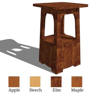 4 Small Arts and Crafts Tables 3D Model - FormFonts 3D ...