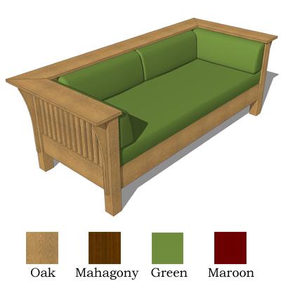 2 Craftsman Sofas Model