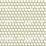 1 inch square pale yellow tile