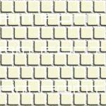 2 inch pale yellow tile